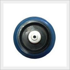 Blue Elastic Rubber Wheel