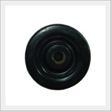 Black Hard Rubber Wheel