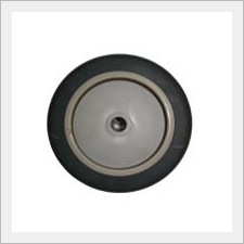 Thermoplastic Grey Rubber Wheel